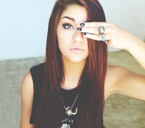 Andrea Russett. She is so gorgeous. If I EVER see anyone hate on her, I will not be happy. xoxo