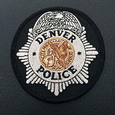 Patch Denver Police Department New Original Colorado USA Rarity