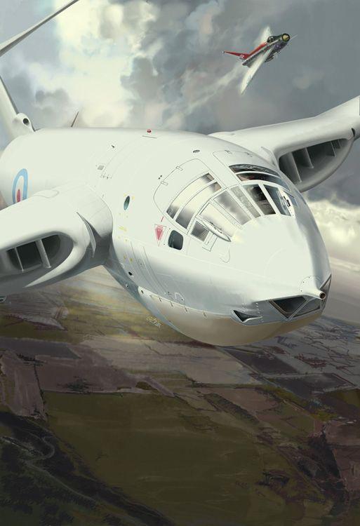 <p>Handley Page Victor B.Mk.2<br/>Fana de l