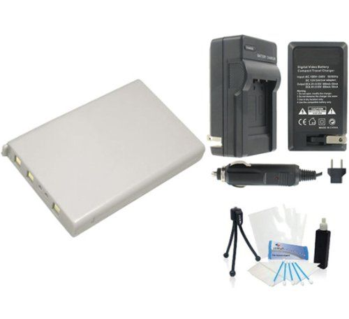EN-EL5 High-Capacity Replacement Battery with Rapid Travel Charger for Nikon Coolpix P3 P4 P5000 P5100 P6000- UltraPro BONUS INCLUDED: Camera Cleaning Kit, Camera Screen Protector, Mini Travel Tripod - http://slrscameras.everythingreviews.net/9917/en-el5-high-capacity-replacement-battery-with-rapid-travel-charger-for-nikon-coolpix-p3-p4-p5000-p5100-p6000-ultrapro-bonus-included-camera-cleaning-kit-camera-screen-protector-mini-travel-t.html