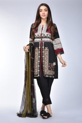 6a377fef28 Ethnic by Outfitters Stylish Winter Shirts Dresses 2018-2019 Designs | Winter  Dresses | Dresses, Winter shirts, Clothes for sale
