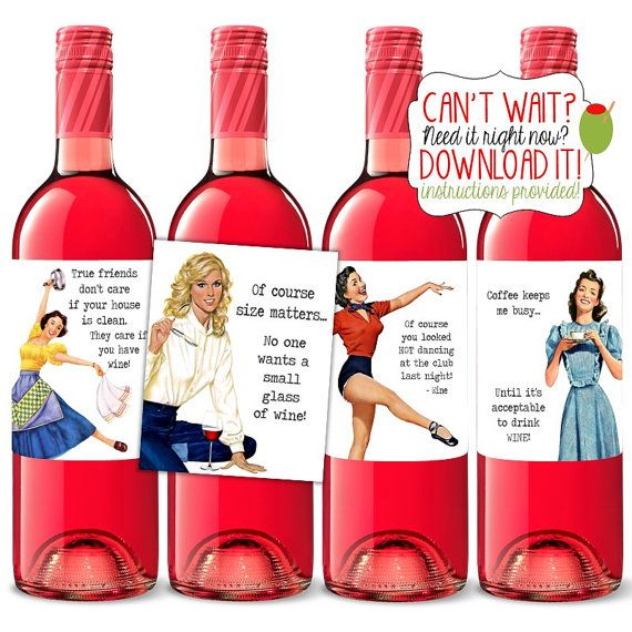 The 25+ best Funny wine labels ideas on Pinterest