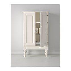 IKEA - ISALA, Rangement, , La tablette profonde offre un vaste espace de rangement.Les tablettes réglables vous permettent de personnaliser votre rangement en fonction de vos besoins.Trouve sa place dans toutes les pièces de la maison.Les pieds permettent de passer l'aspirateur sous le meuble.