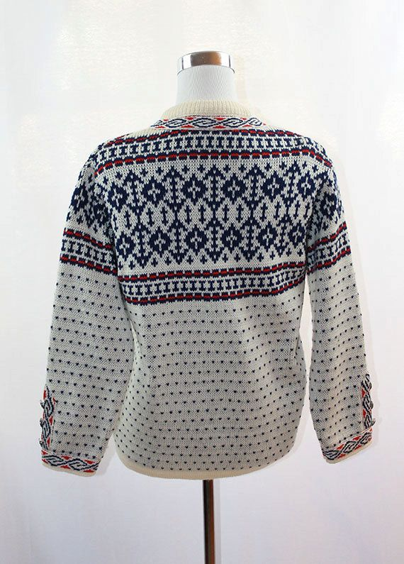 Knitting Patterns For Nordic Sweater : Norwegian Sweater - Cardigan - Nordic - Ski - Lusekofte ...