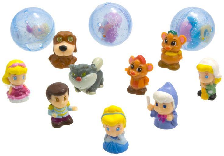 Amazon.com: Blip Squinkies Cinderella Bubble Pack: Toys & Games