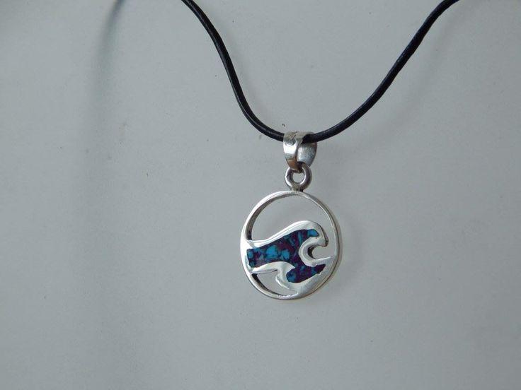 My wave necklace. Made by Cali Creaciones (instagram & fb)
