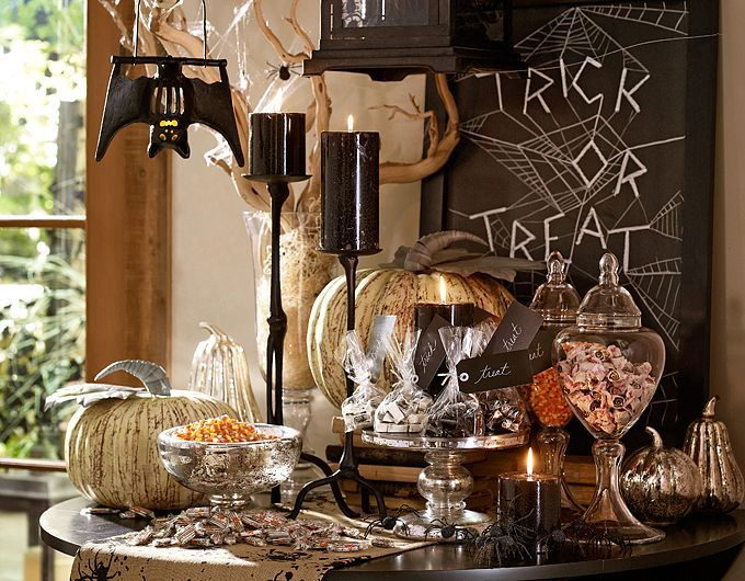 halloween decorating decor decorations from pottery barn 2012 - Pottery Barn Halloween Decorations