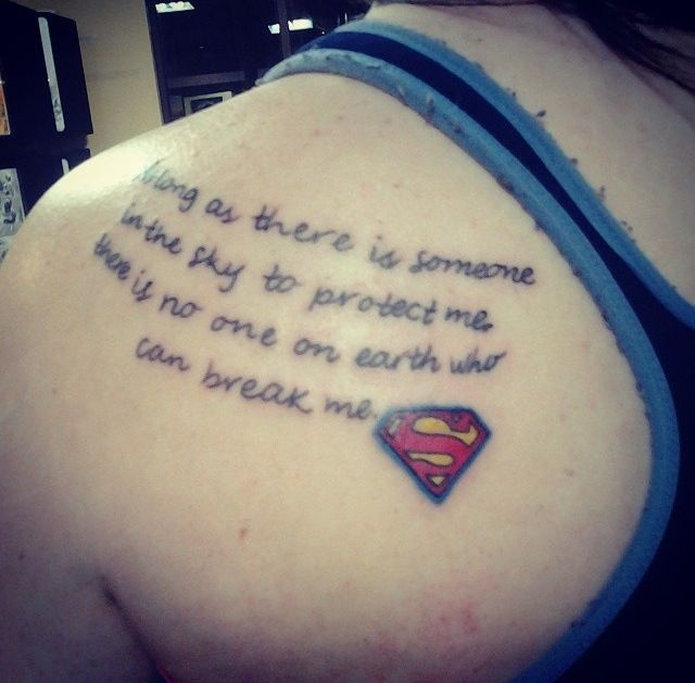 20 Batman Superman Wonder Woman Tattoos Ideas And Designs
