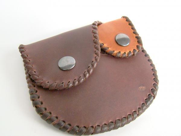 Monedero de cuero - artesanum com
