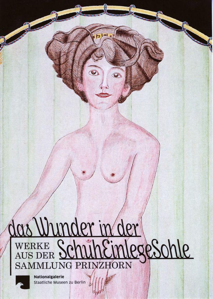 """""""Das Wunder in der Schuheinlegesohle. Werke aus der Sammlung Prinzhorn"""" work by women in mental institutes, their own perception of themselves through their """"insanity"""""""