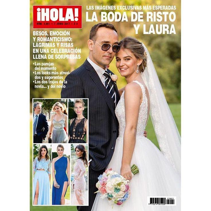 ¡HOLA! adelanta su edición y desde hoy en quioscos, el número de esta semana con las imágenes exclusivas más esperadas de la boda de @RistoMejide y @LauraEscanes. ¡No te lo puedes perder! #hola #revistahola #ristomejide #lauraescanes #exclusiva