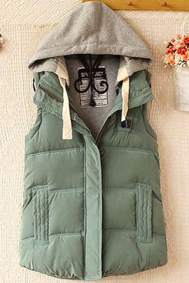 Cute vest for winter!