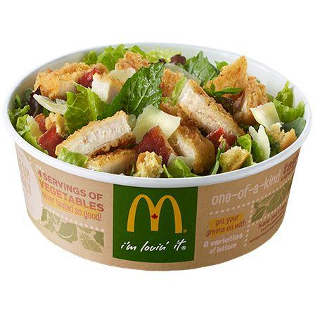 McDonald's kale salads have more calories than a Double Big Mac.