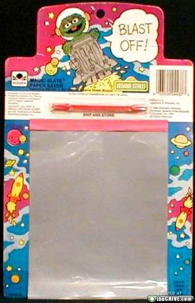 Because Etch-a-sketches were for rich kids.