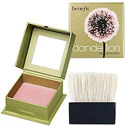 i like benefit Beautiful Routines, Dandelions Blushes, Ballerinas Pink, Powder Blushes, Benefits Dandelions, Beautiful Deals, Beautiful Makeup Skincare, Beautiful Products, Benefits Blushes