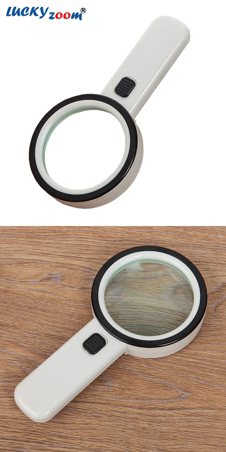 New 10X Double Optical Lens 12 LED Light Magnifier 1 UV Money Currency Detector Light Magnifier Antique Jewelry Magnifying Glass