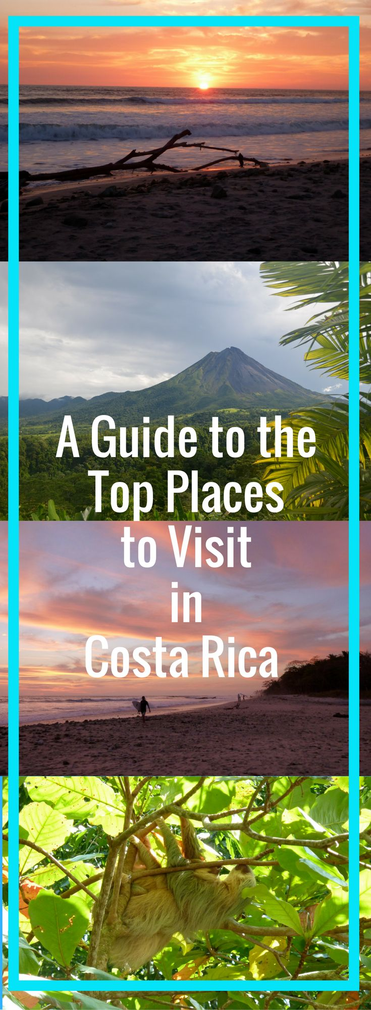 What to do and see in the top destinations in Costa Rica including La Fortuna, Manuel Antonio, Quepos, Santa Teresa, Montezuma and more! Follow Your Detour!