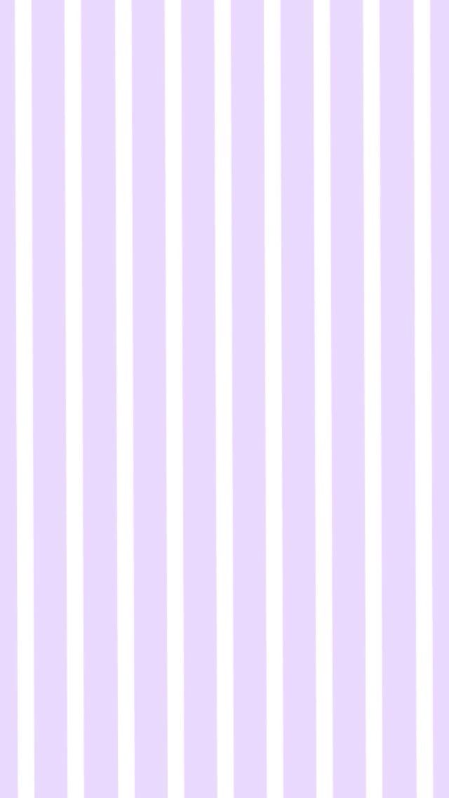 Light Lavender And White Stripes Cute Phone Wallpaper