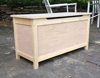 Diy Simple Toy Box With Lid Toy Box Toy Boxes Diy Toy Box