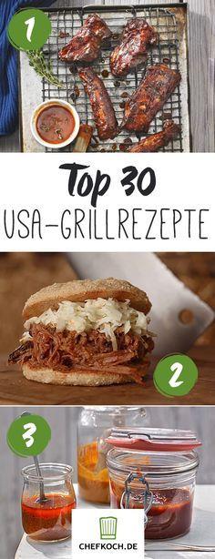 Ob Bacon Bomb, Burger, Chicken Wings oder Spare Ribs, hier findet ihr die leckersten Barbecue Rezepte aus den USA!