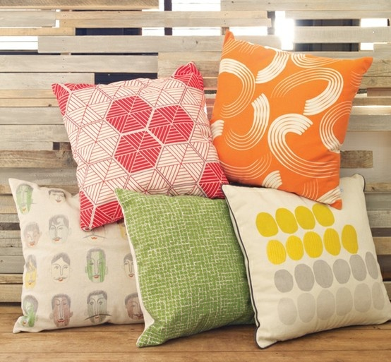 #habitatpintowin A collection of the cushions from the season #Habitat