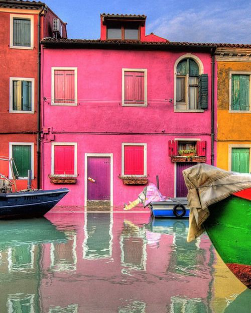 wow4any:  Colors from Burano by Flavio Ciarafoni