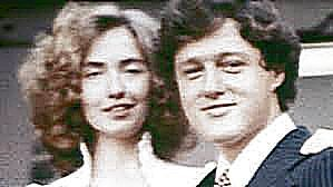 YOUNG HILLARY AND BILL