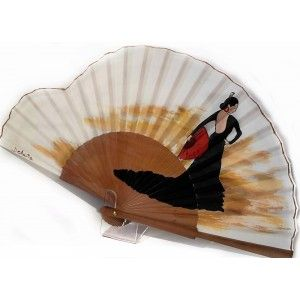Abanico flamenca modelo la lola de españa