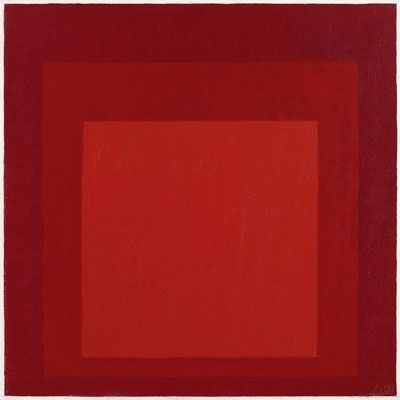 Josef Albers, Study for Homage to the Square, 1969