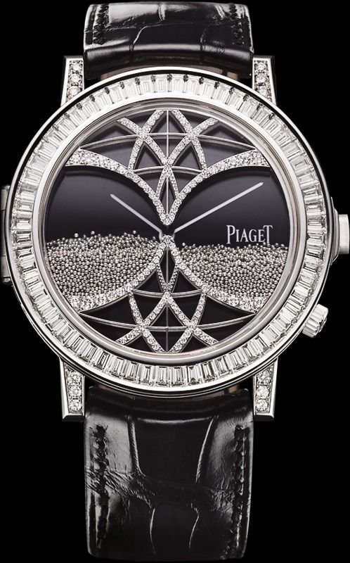 White gold Diamond Ultra-thin mechanical Secret watch - Piaget Luxury Watch G0A33181