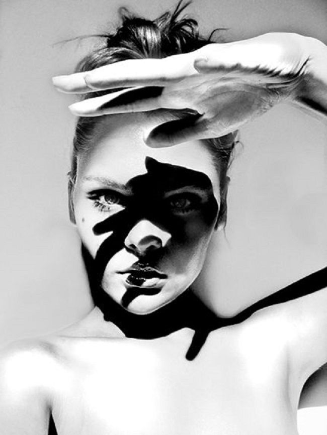 So get in touch with your other side and take some stunning hard shadow shots - photos. Shadow science for photographers
