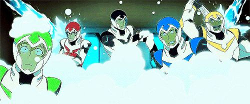 Shiro: actually scrubbing himself  Hunk: happy shower time~ Lane: *confused drifting* Keith: BROODING  Pidge: .... wat...