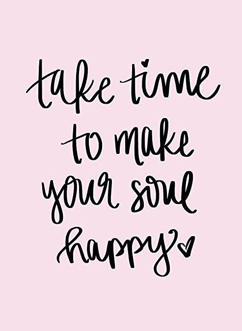 Make Your Soul Happy Print Art Visit directedretail.com #inspiration #parenting #schoolsupplies