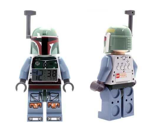 Despertador Lego Star Wars Boba Fett SÓLO 26,83€ - Uno de tus personajes favoritos de Star Wars en forma de Lego despertador. A un precio único, de chollo.