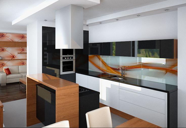 Noch ein anderes, abstraktives Motiv für die Küche.