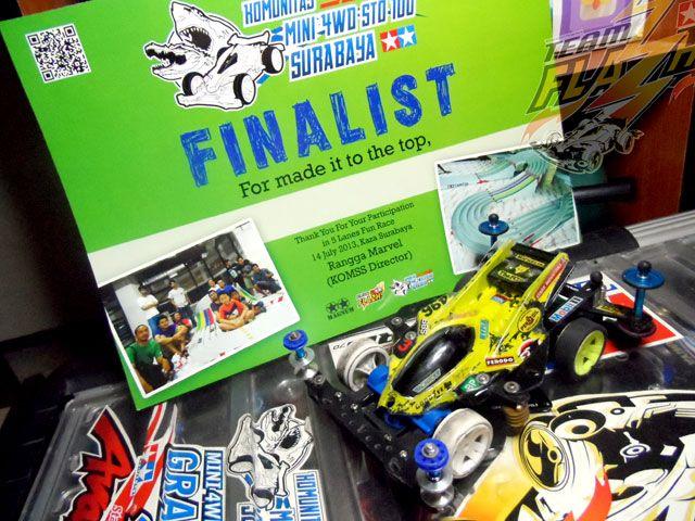 Finalist of 5 Lane Fun Race
