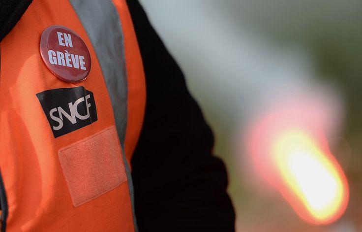 La grève à la SNCF le 25 mai 2016