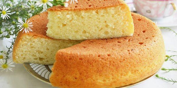 Пышный домашний бисквит без яиц | NashaKuhnia.Ru