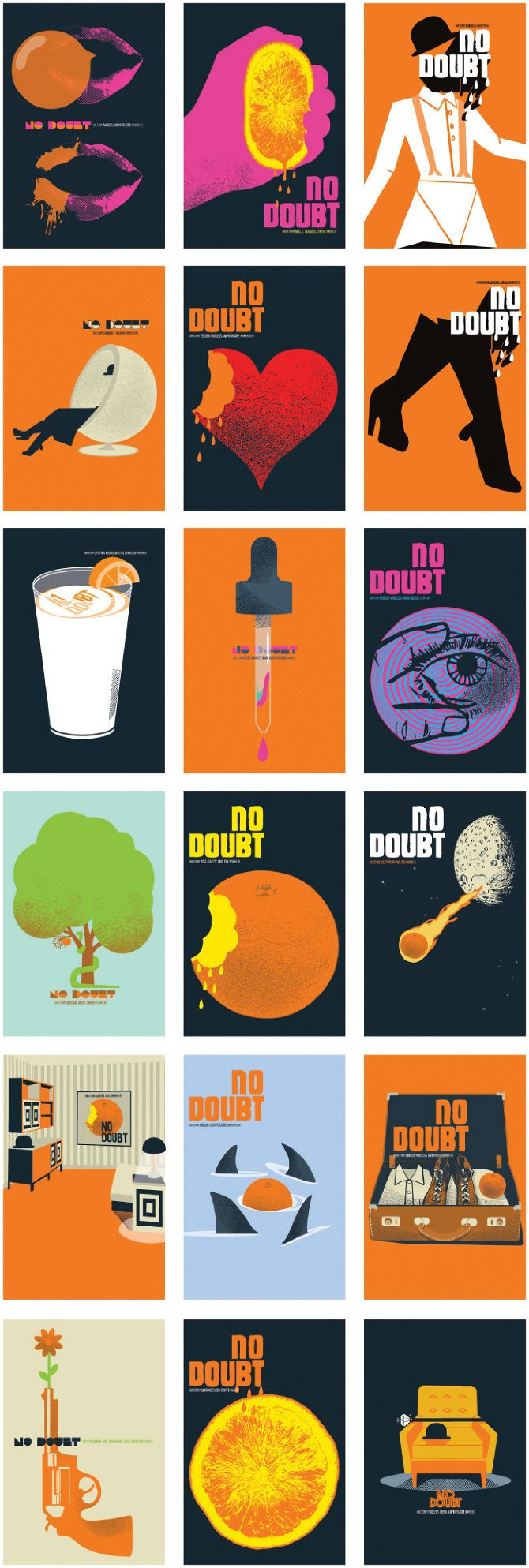 Posters for No Doubt's reunion tour in 2009