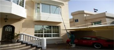 Agha Window Cleaning Services offers high tech water cleaning system for cleaning your windows at your residence, offices, commercial complexes and more. They use waterfed pole system which used pure water which is not only safer but also cleaner, works longer and is better for you. Visit their website or call them today on 055 9978 558.