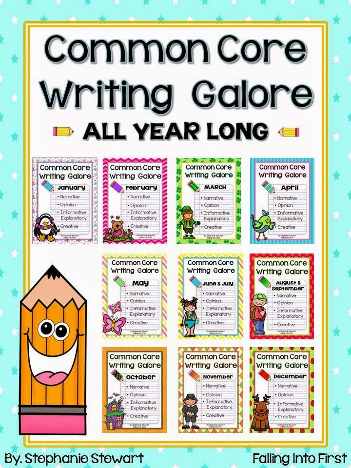 First Grade Writing - Narratives, Opinion & Informative - A Bundle!