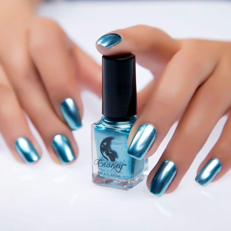 Купить зеркальный лак для ногтей #14