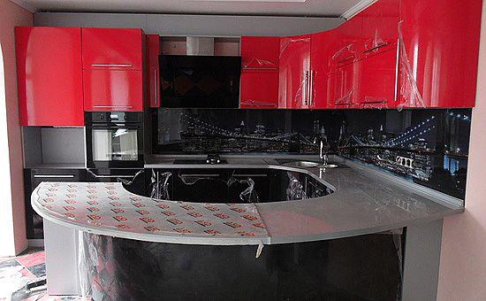 Кухня, изготовленная на заказ #kitchen