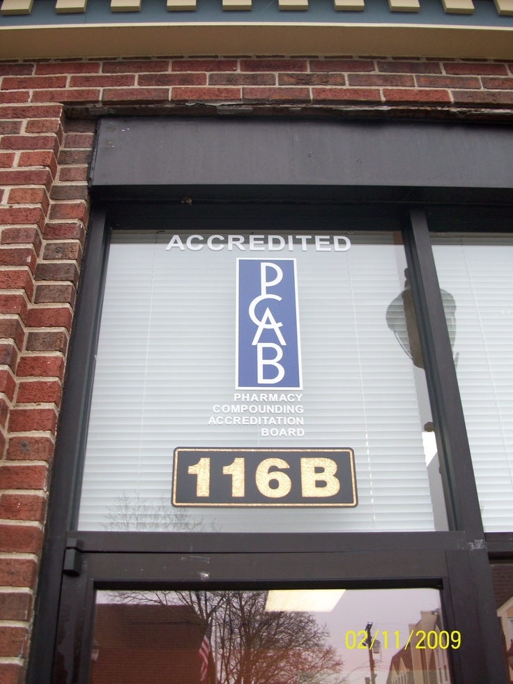 PCAB accreditation.  Don't fill your compounded prescription at a pharmacy without this seal.