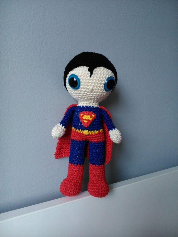 Crochet Superman by kaizerka on Etsy