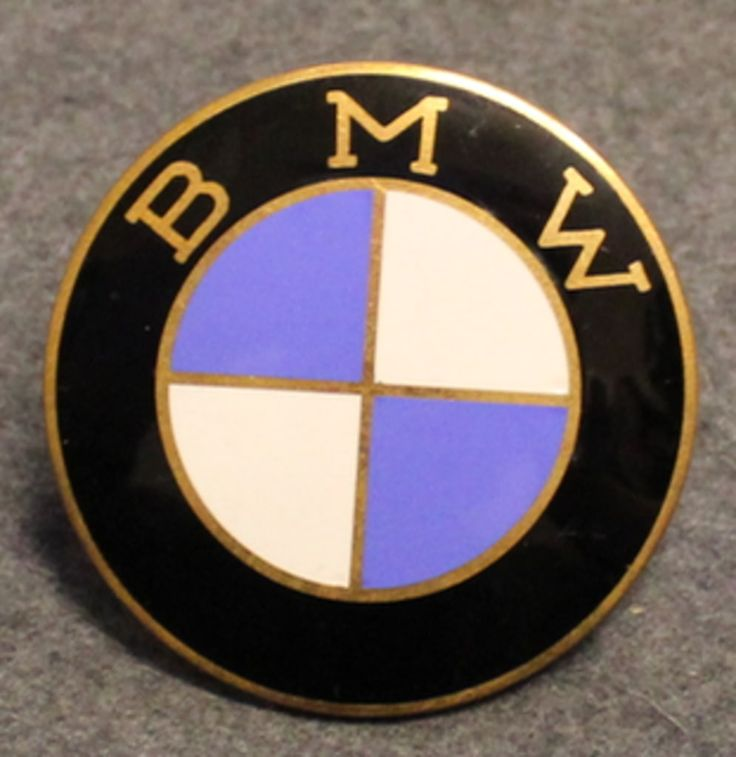 BMW merkki / logo, 60mm, emaloitu.