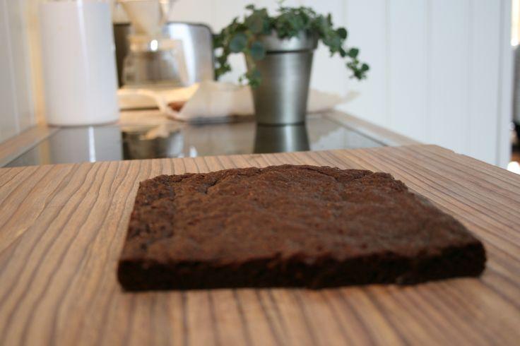 Brownies uten gluten, melk og egg