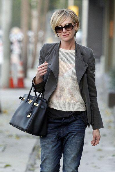 Portia de Rossi - love the hair!