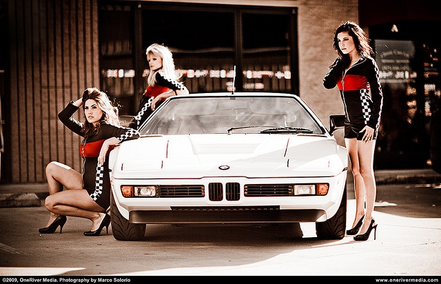 BMW M1. Photo shoot at Performance Technic.