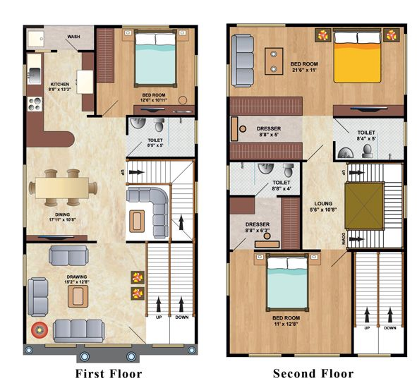 Best 25 2bhk house plan ideas on pinterest two bedroom for 30x50 duplex house plans